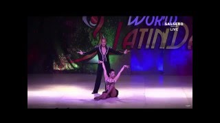 DEKLAN GUZMAN Y NATALIA VILLANUEVA FINAL PRO SALSA ON1 WORLD LATIN DANCE CUP 2016