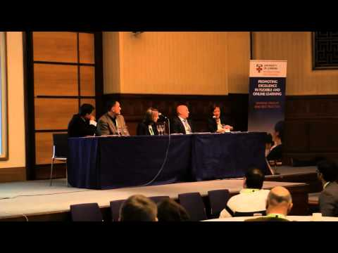 Panel discussion from 'Online and open-access learning in higher education' conference