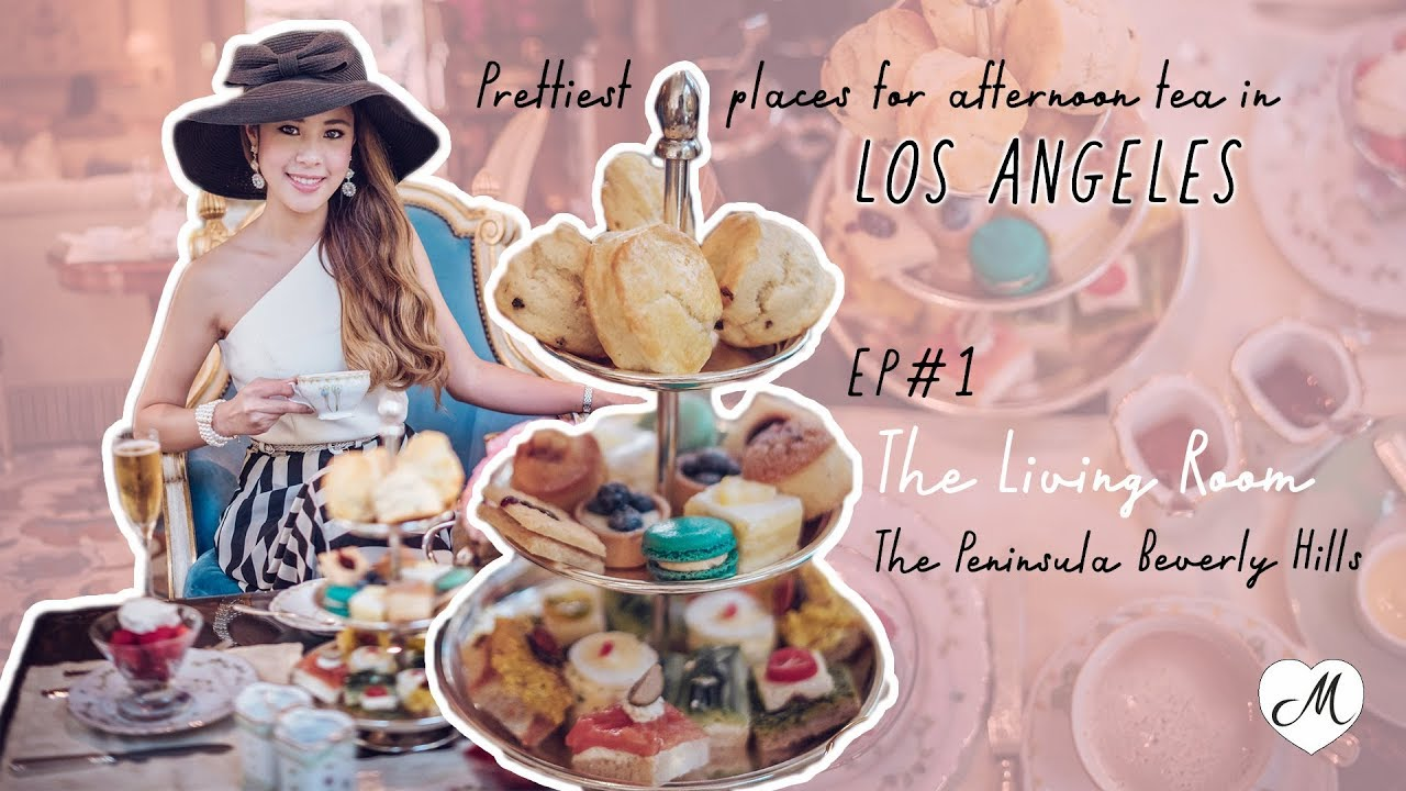 Afternoon Tea Series Ep 1 The Living Room At The Peninsula Beverly Hills Youtube