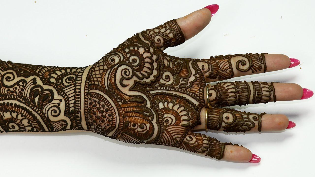 Mehndi Designs Hands Teej : Rajasthani full hand mehndi designs beautiful for