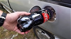 POURED COCA COLA ZERO IN A RESERVOIR - Does the car work?