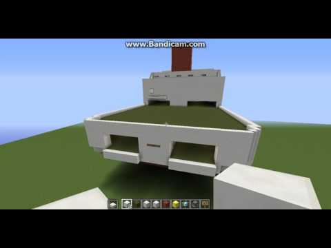 My First Minecraft Ship Build, Cruise ferry (work in progress)
