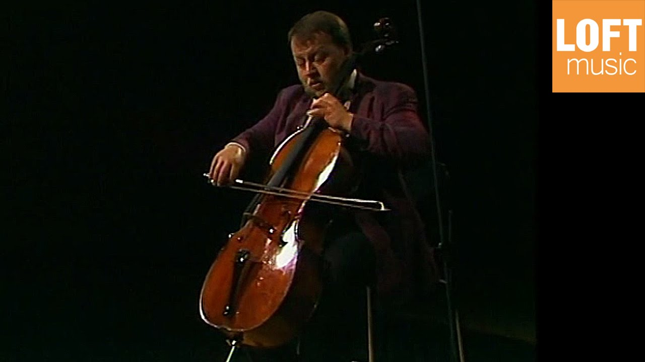 Heinrich Schiff: J.S. Bach - Solo Suite No. 3 in C major, BWV 1009