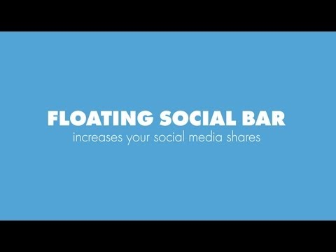 How to Add a Floating Social Share Bar in WordPress