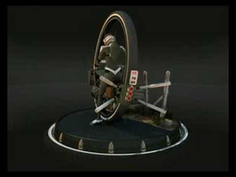 Modeling reel, Monobike