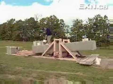 Simple building  Stonehenge Reloaded by only one white man!!!