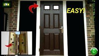 Exterior Door Security Hack For Under A Buck!