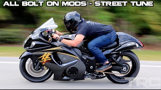 Suzuki Hayabusa battles Turbo Supra on the highway!(2015 Suzuki Hayabusa mods: BMC filter Ecu Flash Brocks full exhaust Chain and sprockets Lowered and strapped 190/55 rear tire 1995 Toyota Supra mods: ..., 2016-06-04T23:05:57.000Z)