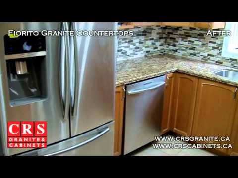 Fiorito Granite Countertop By CRS Granite Cabinets In