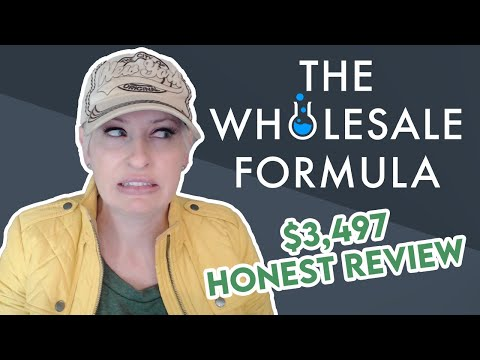 I Bought The Wholesale Formula Course - Here's What I Think