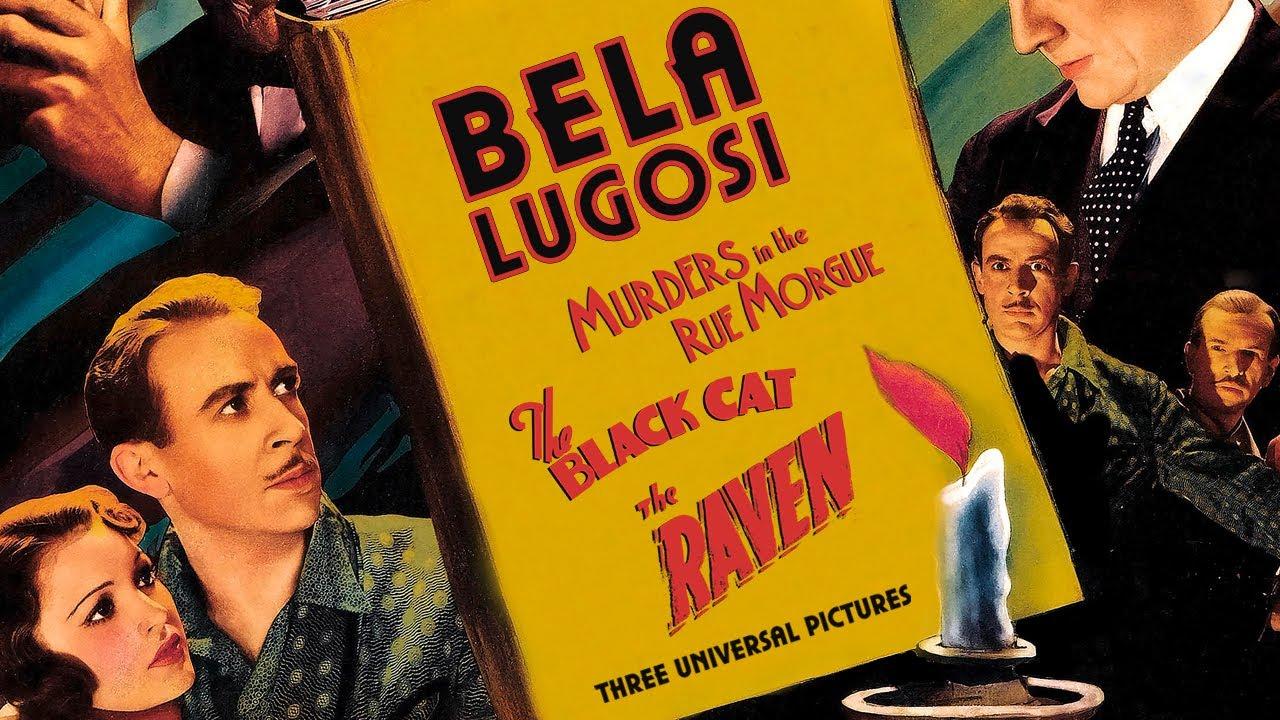 THREE EDGAR ALLAN POE ADAPTATIONS STARRING BELA LUGOSI (Masters of Cinema) Clips Trailer