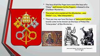 What are the Keys of Janus and Cybele? How do these Keys become the Keys of Rome?