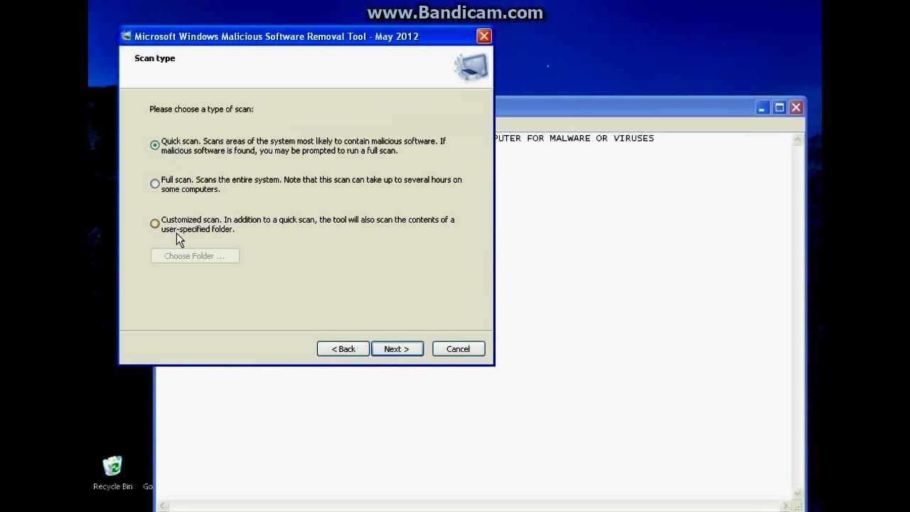 How to check pc for viruses 24