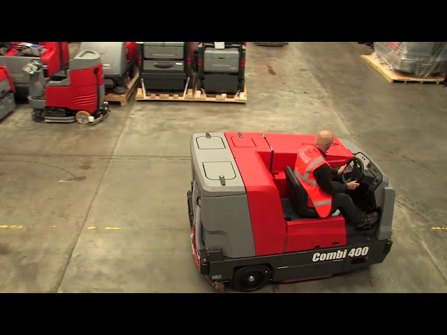 [Columbus UK] Hako Combi 400 Ride-on Floor Scrubber Drier