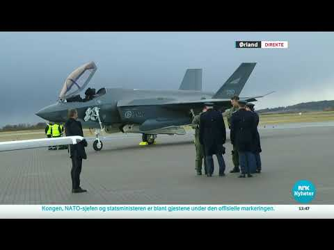 Norway F-35 Ceremony