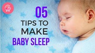 5 Tips to Make Baby Sleep All Night | Babygogo