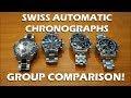 Valjoux 7750 Swiss Automatic Chronographs - TAG Heuer, Oris, Omega, Montblanc - Perth WAtch #53
