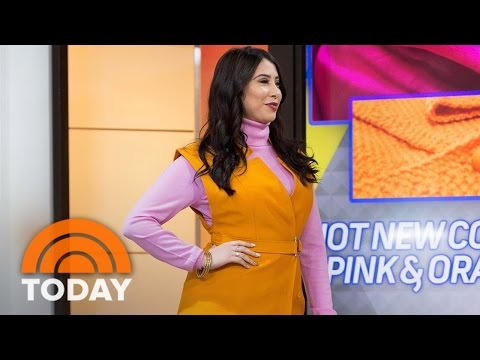 Fresh Fashion Trends For 2017: Orange IS The New Black, Layering, More | TODAY