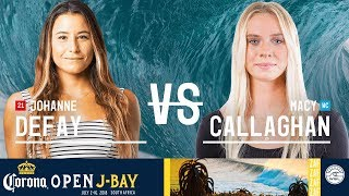 Johanne Defay vs. Macy Callaghan - Round Two, Heat 4 - Corona Open J-Bay - Women's 2018