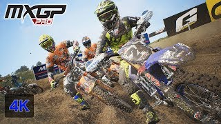 MXGP PRO Gameplay Onboard Race at Ottobiano Italy (Lombardia) - Antonio Cairoli Stage #11 [4K PC]