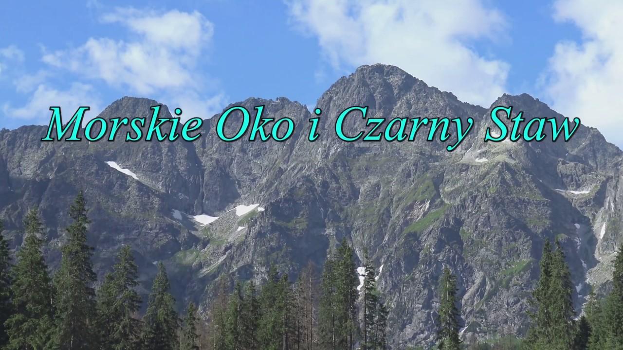 Tatrzańskie Widoki w 4K - Morskie Oko i Czarny Staw oraz otoczenie, Polska