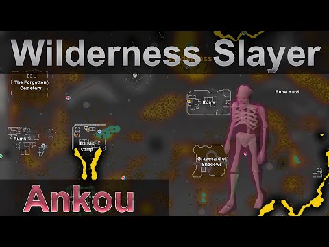 Wilderness Only Slayer Guide | Ankou OSRS Safespot Cannon