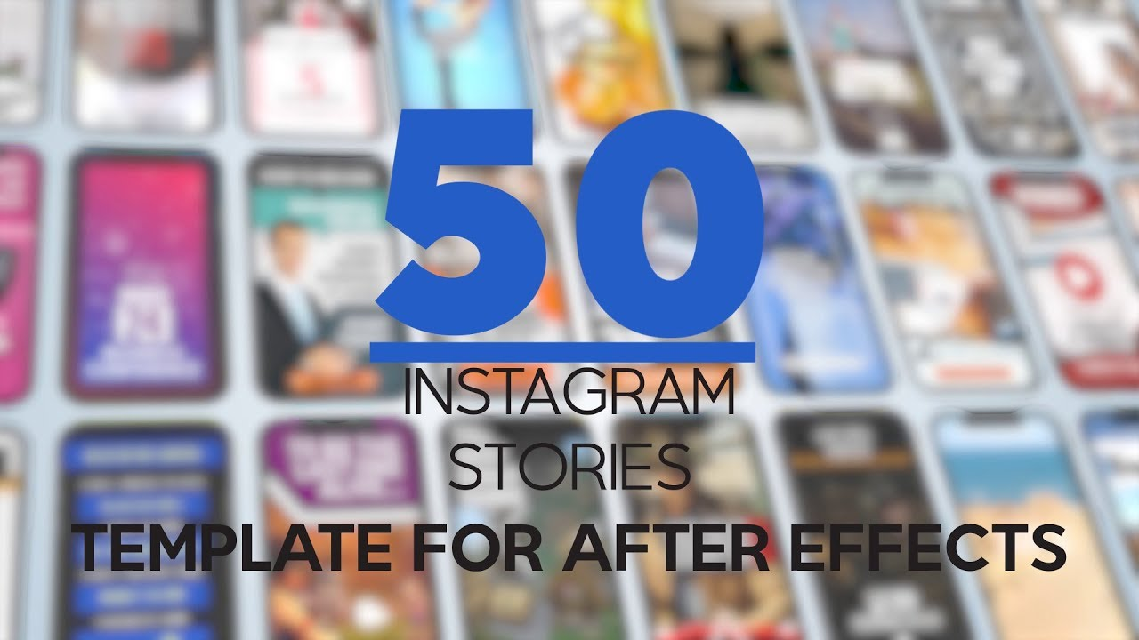 Template After Effects: 5 Instagram Stories gratuite - Daniele