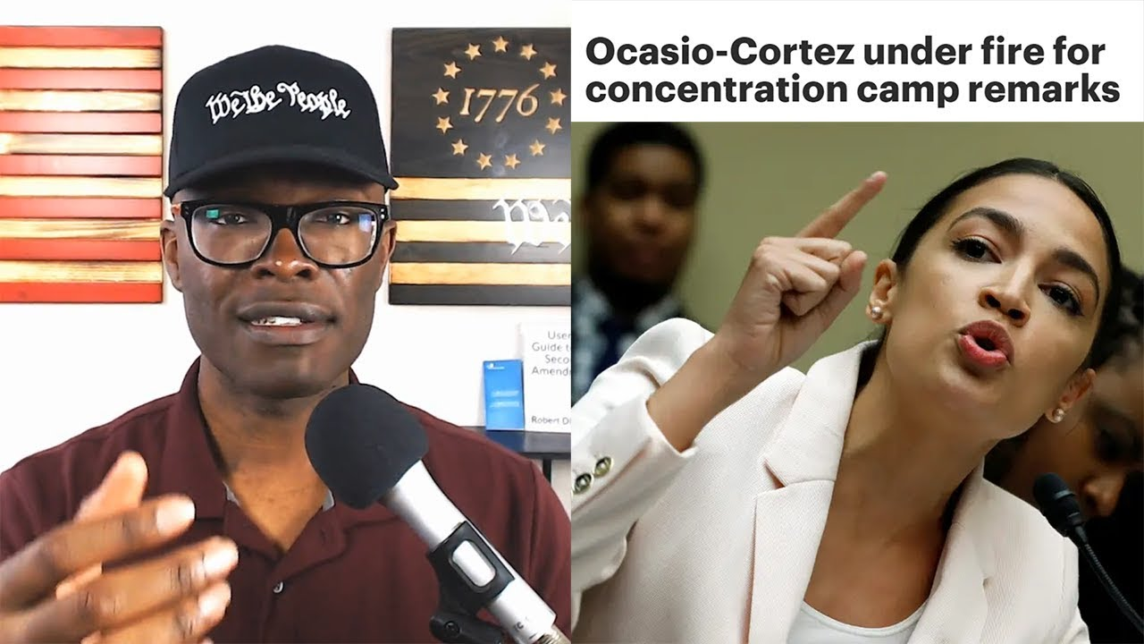Anthony Brian Logan - AOC Labels Border Detention Centers As CONCENTRATION Camps!