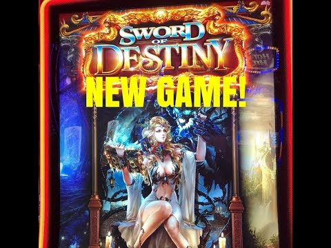 NEW GAME! SWORD OF DESTINY SLOT MACHINE-BONUS - 동영상