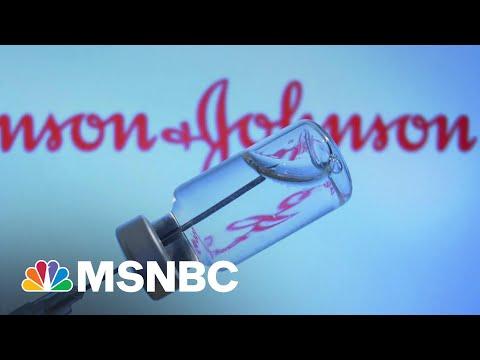 CDC Panel Recommends Resuming J&J Vaccine Distribution   Deadline   MSNBC