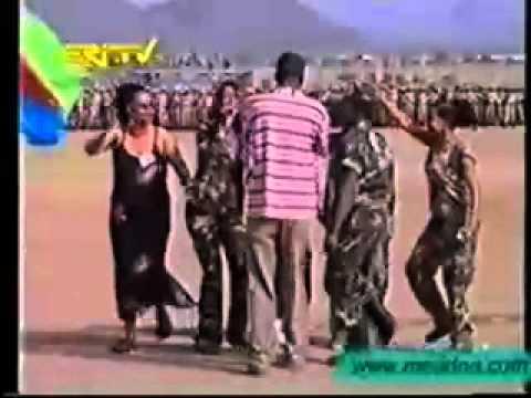 Helen Meles, Eritrean star.flv