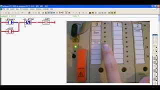 "Programming SIMATIC S5 (S5-100U) with PG-2000 - ""Self holding circuit"""