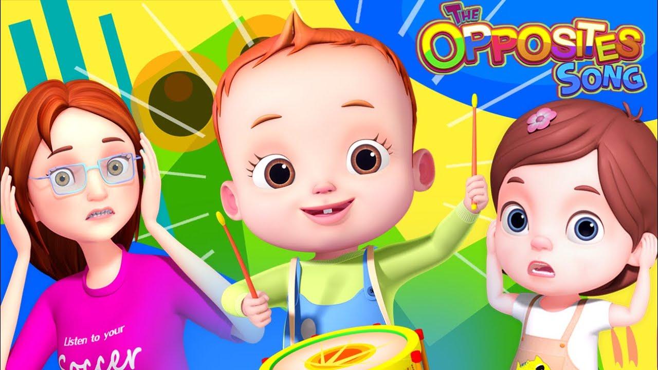 Big Small Loud Quiet Song | Baby Ronnie Rhymes | Nursery Rhymes & Kids Songs | Learning Songs
