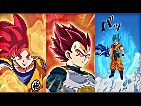 *NEW* SSG VEGETA , GOKU , AND SSB GOKU SUPER ATTACKS!   Dokkan Battle JP!