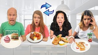 Download 2 FAMILIES Swap Diets for 24 HOURS!  What if they eat GROSS food?! Mp3 and Videos