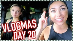 Running My First 5k Race & A Disclaimer.VLOGMAS DAY 20