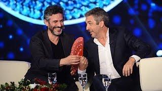 Darín y Sbaraglia en el living - Susana Giménez