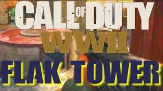 *Leaked* New Flak Tower COD WW2 Map Gameplay (Call of Duty WW II)