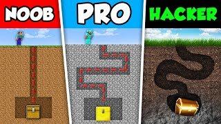 Minecraft NOOB vs PRO vs HACKER : SECRET MAZE in Minecraft Animation!