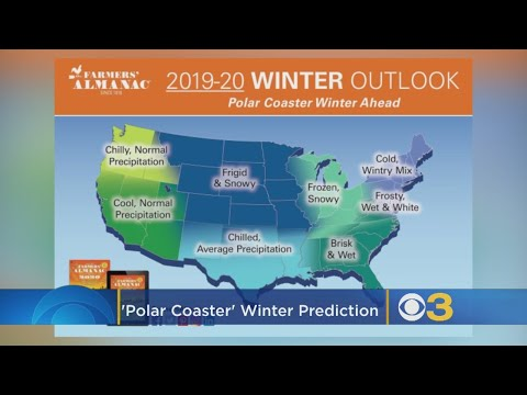 Polar Coaster Winter': Farmers' Almanac Predicts Frigid