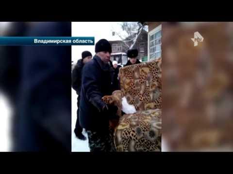 Выселение жильцов из дома под Владимиром переросло в драку с приставами