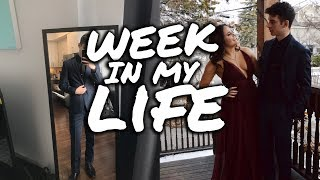 week in my life | photoshoot, sorority formal & mental health panel