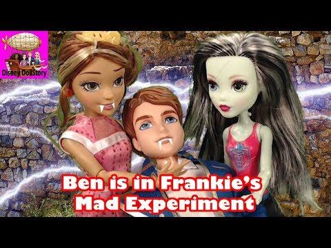 Vampire Ben is Captured for Mad Science Experiment-Part 21-Vampires Moana Descendants Disney