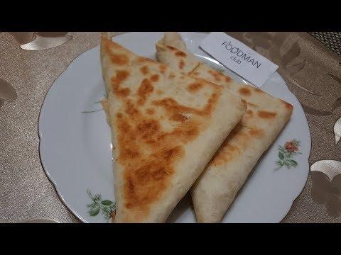 Треугольники с картошкой и сыром: рецепт от Foodman.club