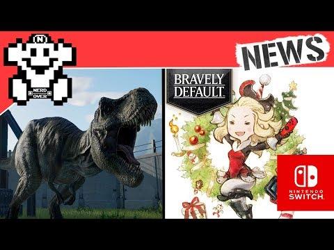 Bravely Default bald für Switch? / Neues zu Jurassic World Evolution! NerdNews #209