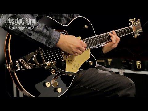 Gretsch Guitars G6139T-CB Black Falcon Center-Block Electric Guitar