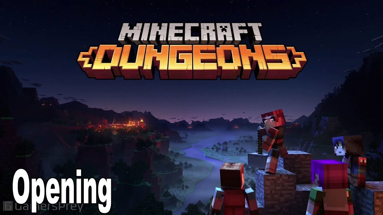 Minecraft Dungeons Opening Cinematic Minecon 2019 Hd