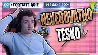FORTNITE QUIZZ DO YOU KNOW ALL THE ANSWERS??? * Too good * ❗️