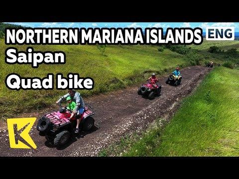 【K】Northern Mariana Islands Travel-Saipan[북마리아나제도 여행-사이판]4륜 오토바이 경험/Quad bike/Unpaved road/STAR ATV