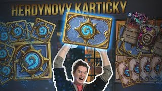 HS NAROZENINOVÝ PACK OPENING! 30 KNIGHTS OF THE FROZEN THRONES PACKS